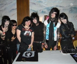andy sixx, jinxx, and andy biersack image