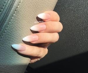 ombre stiletto nails image