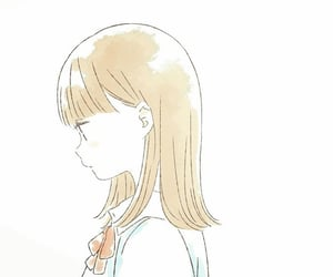 anime girl, illustration, and anime school uniform image