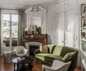 home, interior, and parisian image