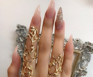 nails, fashion, and inspiration image