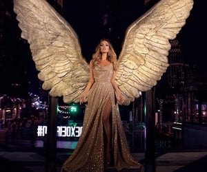 dress, angel, and style image