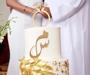 cake, husband, and M image