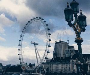 london, london eye, and travel image