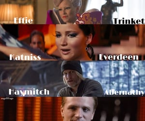 Collage, peeta mellark, and effie trinket image