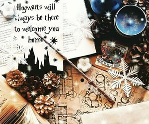 books, girly, and harry potter image