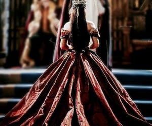 reign, Queen, and dress image