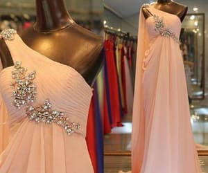 prom gown, robe de soirée, and one shoulder prom dress image