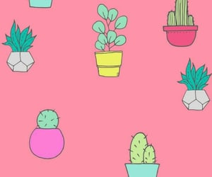 background, cactus, and cellphone image