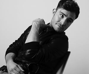 black and white and ed westwick image
