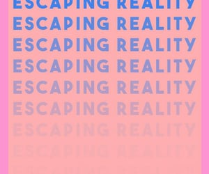 escape, escaping, and reality image