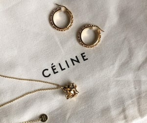 celine and earrings image