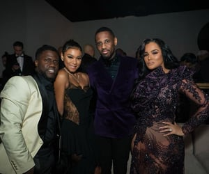 fabolous, emily b, and kevin hart image