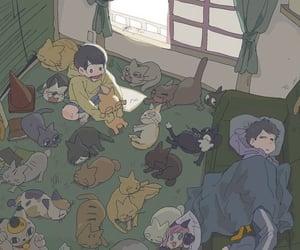 ichimatsu, jyushimatsu, and osomatsu san image