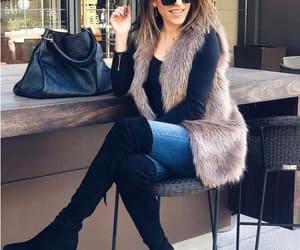 fur coat, furry vests, and teddy bear coats image