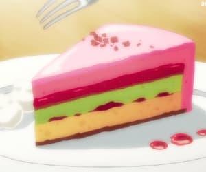 cake, gif, and gifs image