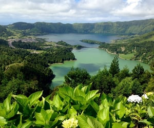 twin lakes, azores, and destination image