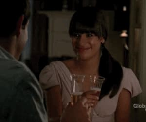 couple, cory monteith, and finn and rachel image