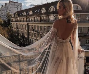 beauty, bride, and fashion image