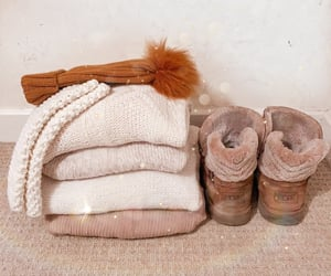 beige, ugg, and sweaterweather image