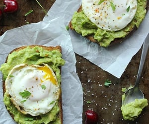 avocado, eating, and fitness image