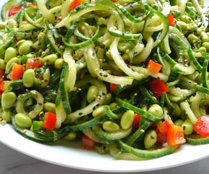 delicious, eat, and edamame image