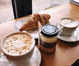 cappuccino, city, and coffee shop image