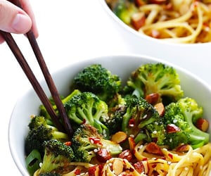 broccoli, food, and healthy image