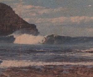 sea, vintage, and beach image