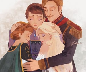 Queen, anna, and disney image