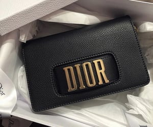 bag, black, and dior image