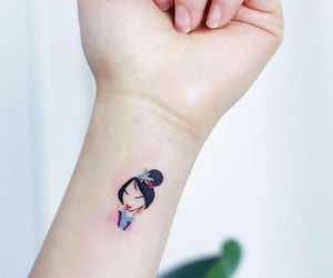 mulan, tattoo, and disney image