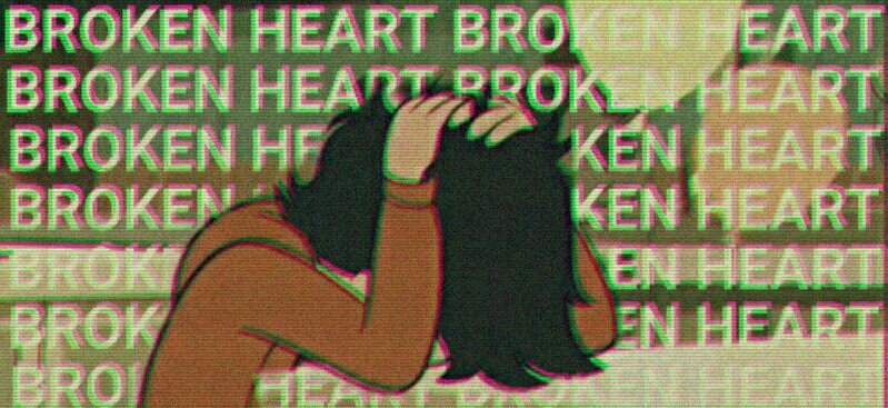 article, broken heart, and story image