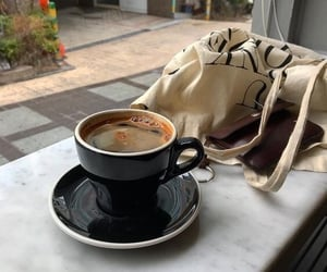 coffee, aesthetic, and cafe image