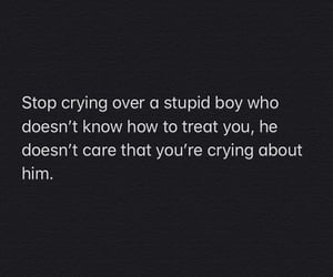 bitch, crying, and fuck boy image