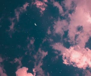 sky, wallpaper, and moon image
