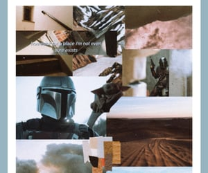 :), mandalorian, and Collage image