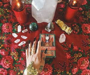 candles, claws, and red image