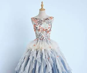 ball gown, sweet 16 dress, and prom dress image