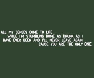 Lyrics, one, and sfondo image