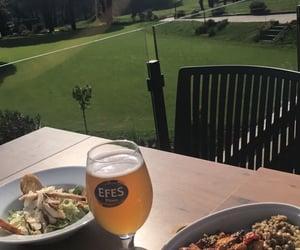 beer, forest, and landscape image