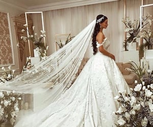 fashion, bride, and Couture image