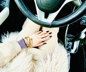 angie, nails, and chevrolet image