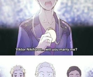 ice skating, yuri katsuki, and yuri !!! on ice image