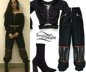 clothes, dark, and lauren image