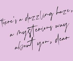 handwritten, lover, and Lyrics image