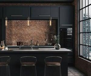 black, cuisine, and decor image