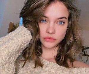beauty, blue eyes, and cream image