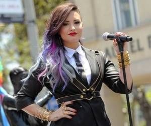 colorful, demi lovato, and gaypride image