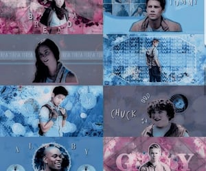 aesthetic, edit, and the maze runner image